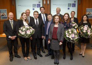 Düsseldorf, 11.03.2017 Jubiläumsfeier anlässlich 10 Jahre Düsseldorfer Fachschule für Finanzdienstleistungen